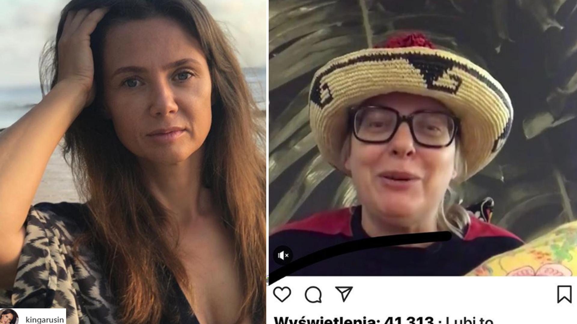 Rusin odpowiedziała na WYŚMIEWAJĄCY jej firmę post Nosowskiej! Będzie afera?