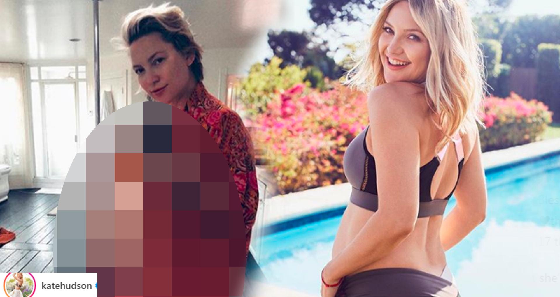Kate Hudson pokazała OGROMNY brzuch. Fani: dziecko się już tam nie mieści!