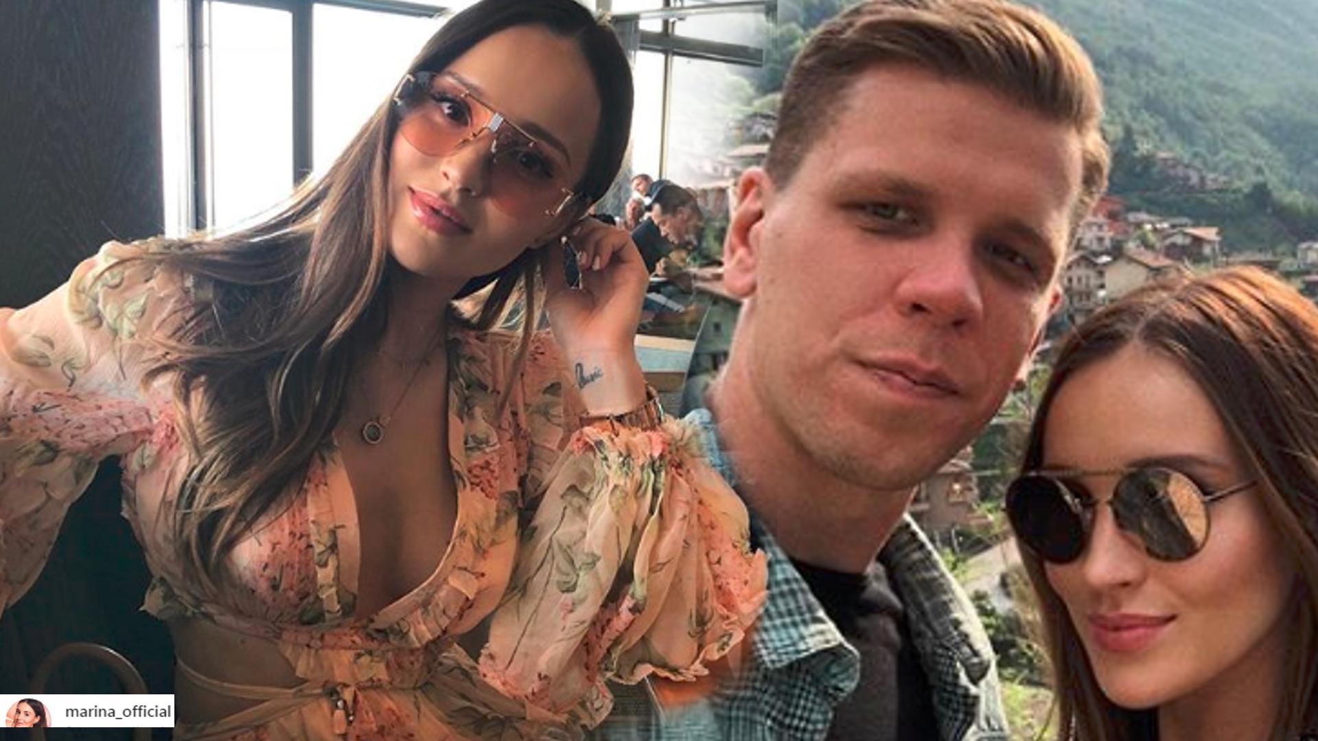 Marina Łuczenko i Wojtek Szczęsny TAK odpoczywają od synka