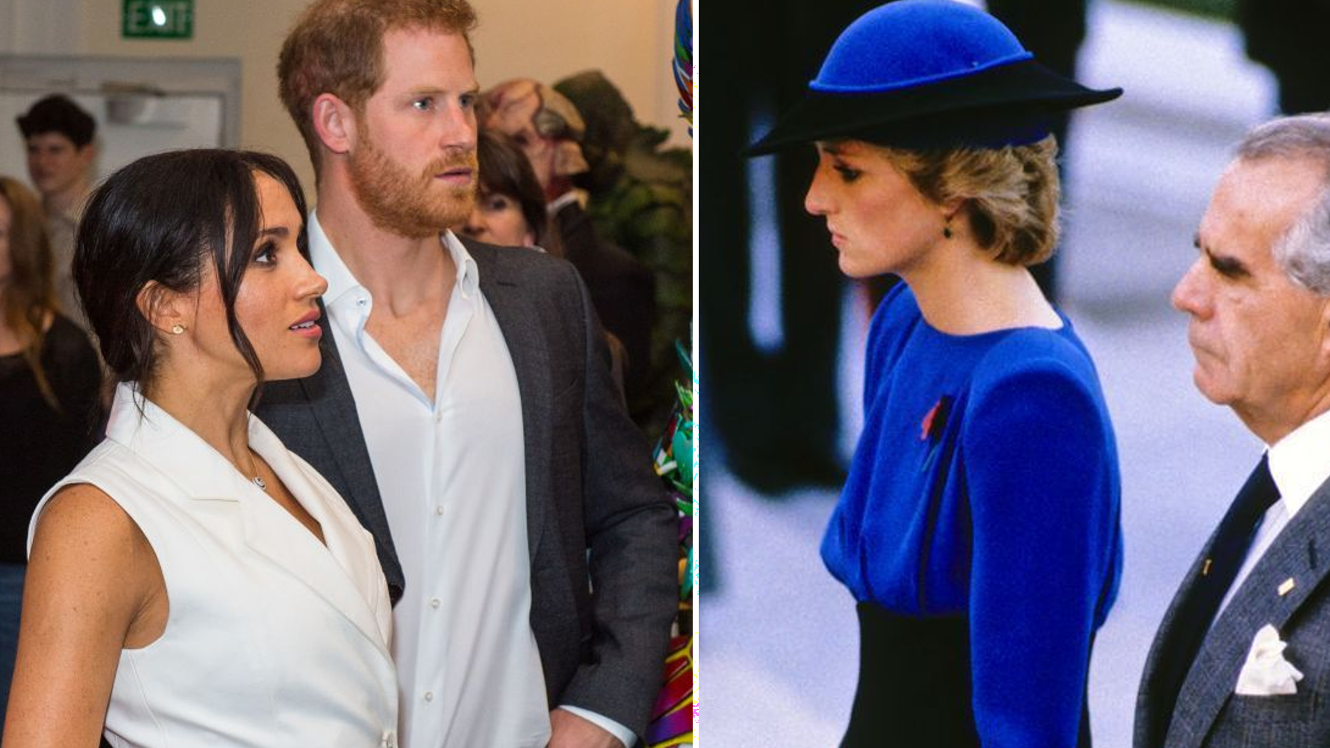 Harry martwi się, że Meghan przejdzie przez to samo piekło, co księżna Diana