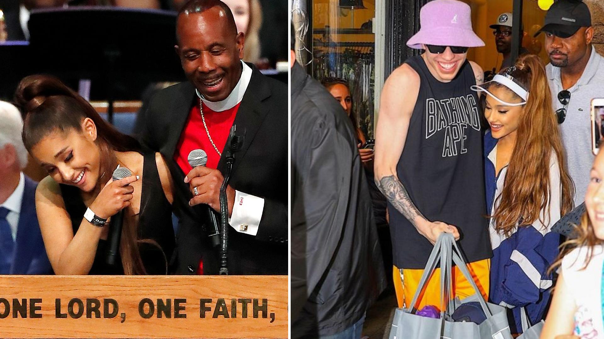 Gdy Pete zobaczył, że pastor OBMACUJE Grande, chciał zrobić TO!