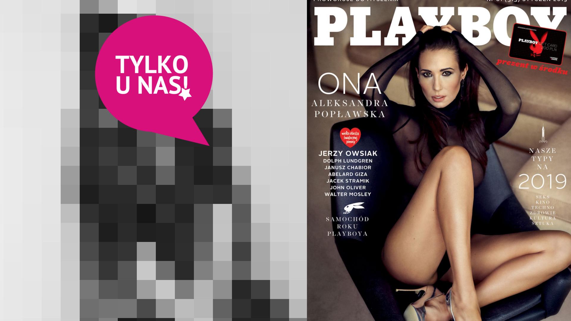 Mamy NIEPUBLIKOWANE zdjęcie Popławskiej z sesji dla Playboya