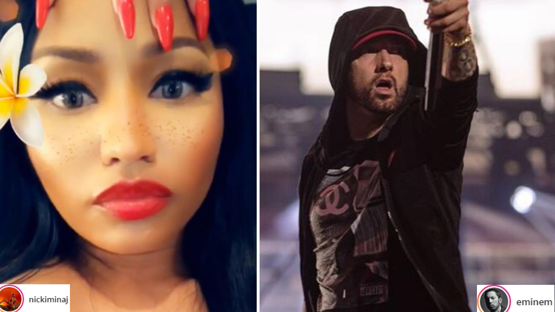 Nicki Minaj i Eminem jednak są PARĄ? Oto dowód
