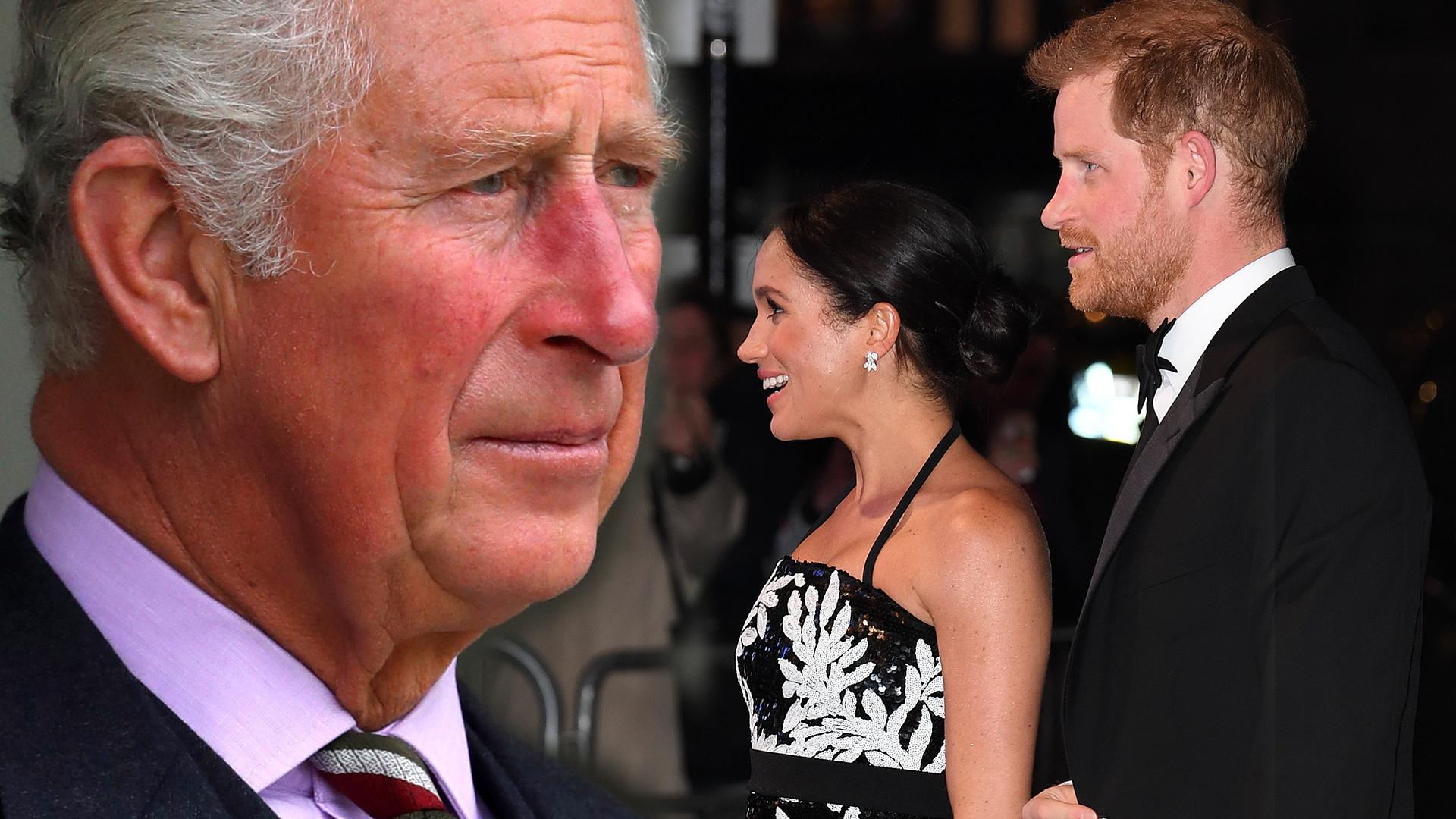 Książę Karol sugeruje, że Meghan i Harry nazwą dziecko TYM imieniem