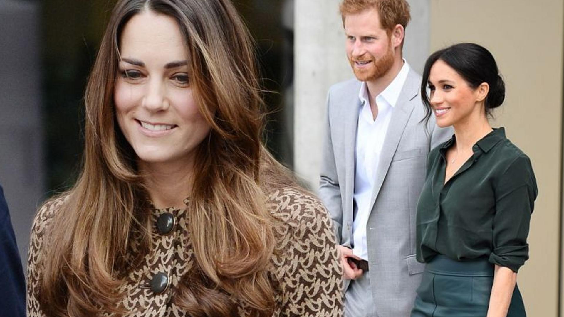 6ed8b817369b9 Kate Middleton PIERWSZY raz o dziecku Meghan i Harry'ego