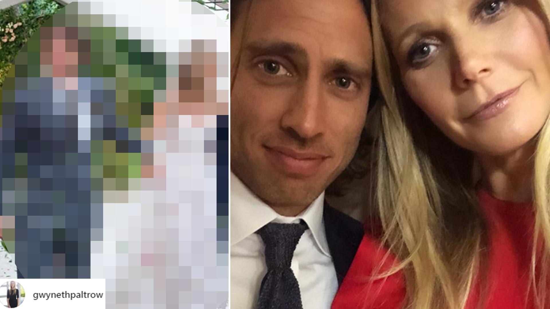 Gwyneth Paltrow pokazała zdjęcie w SUKNI ślubnej! Czy to FIRANKA?