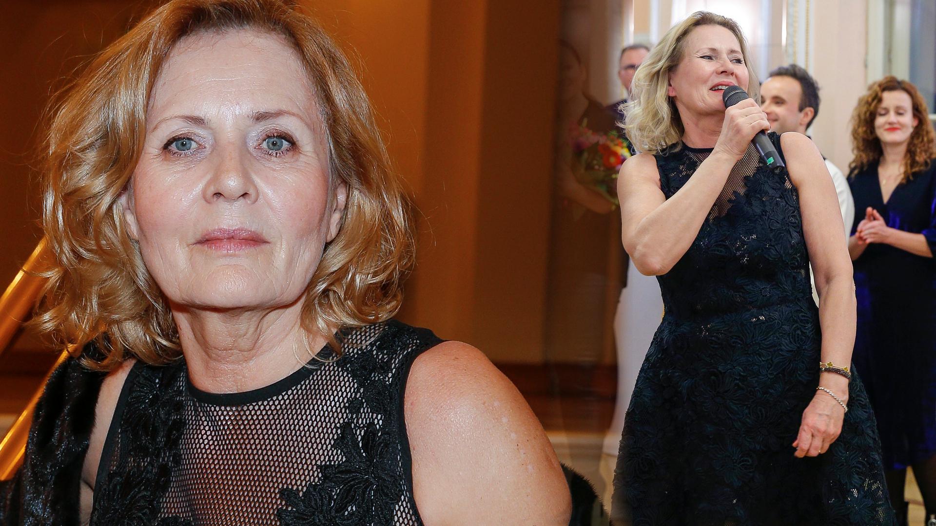 65 letnia Szapołowska w stroju kąpielowym: Co za figura!