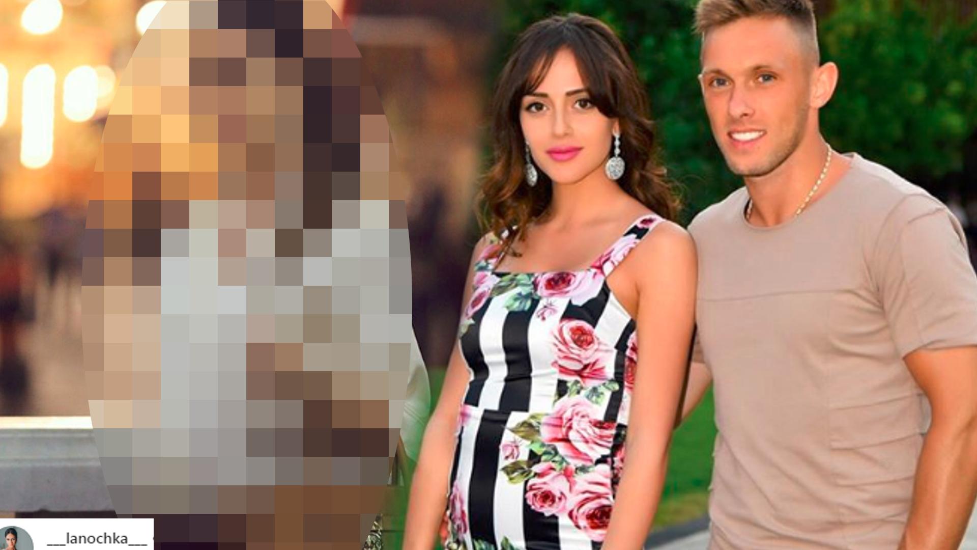 Żona Rybusa TAK cieszy się z ciąży! W tej stylizacji wygląda obłędnie!