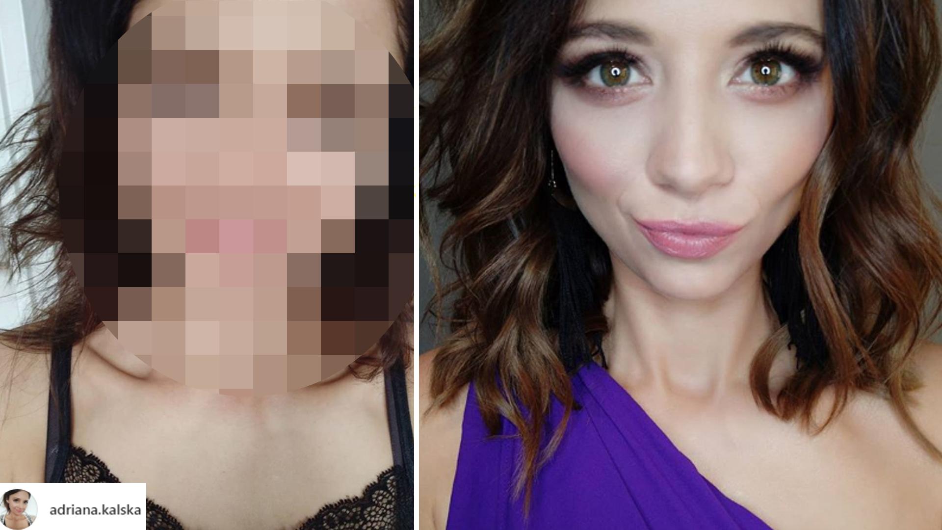Adriana Kalska pokazała się bez makijażu. Fani w szoku