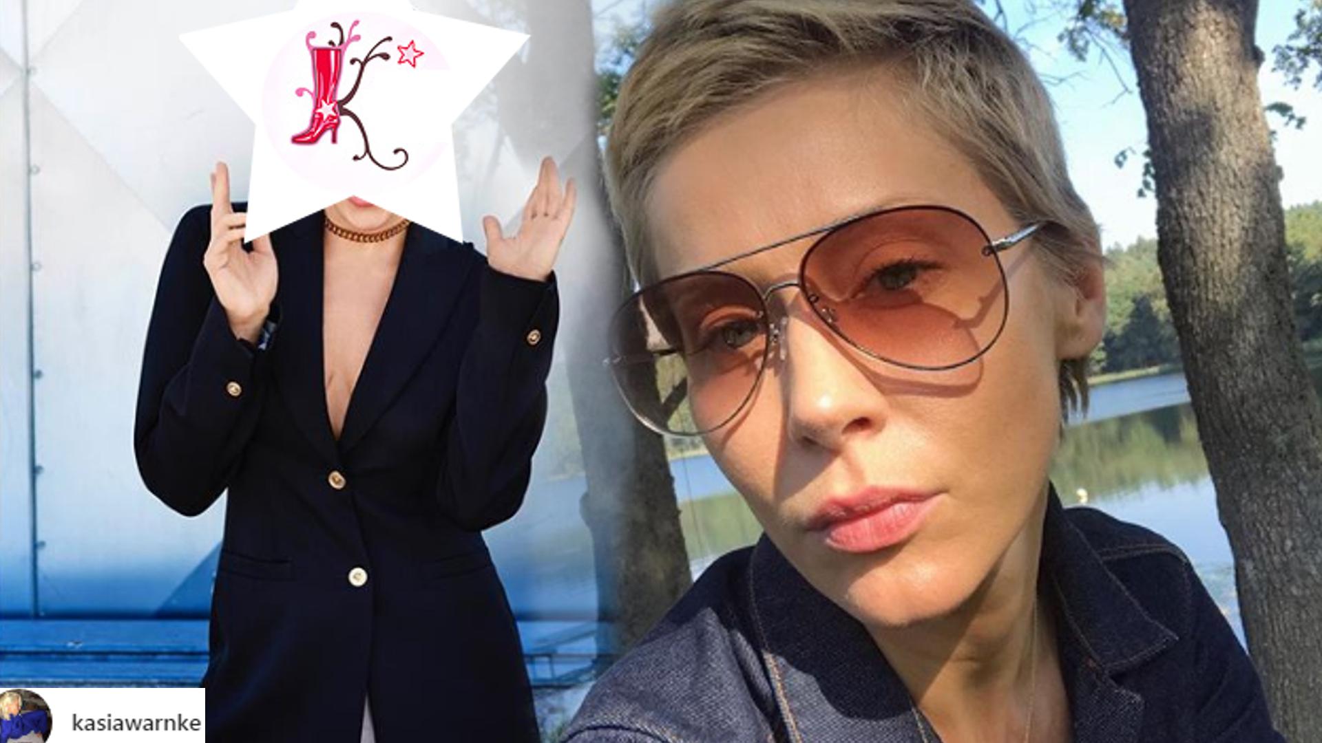 Nowa fryzura Kasi Warnke. Fani jej NIE poznają!