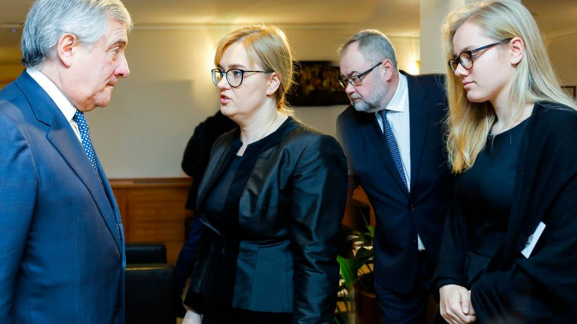 Żona i córka Adamowicza w Brukseli. Spotkały się z przewodniczącym PE