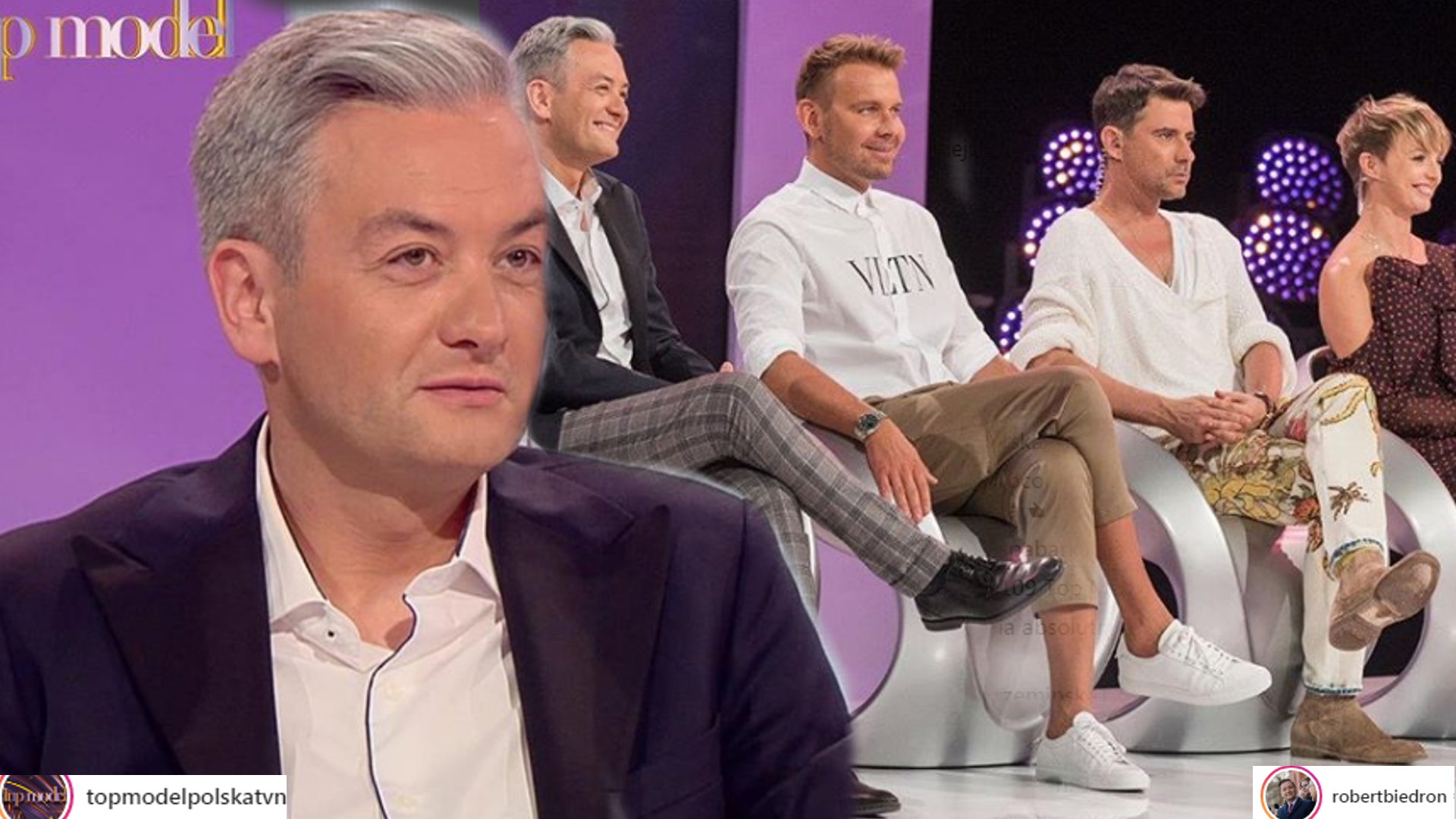 Internauci OBURZENI występem Biedronia w programie: Top Model czy polityka?