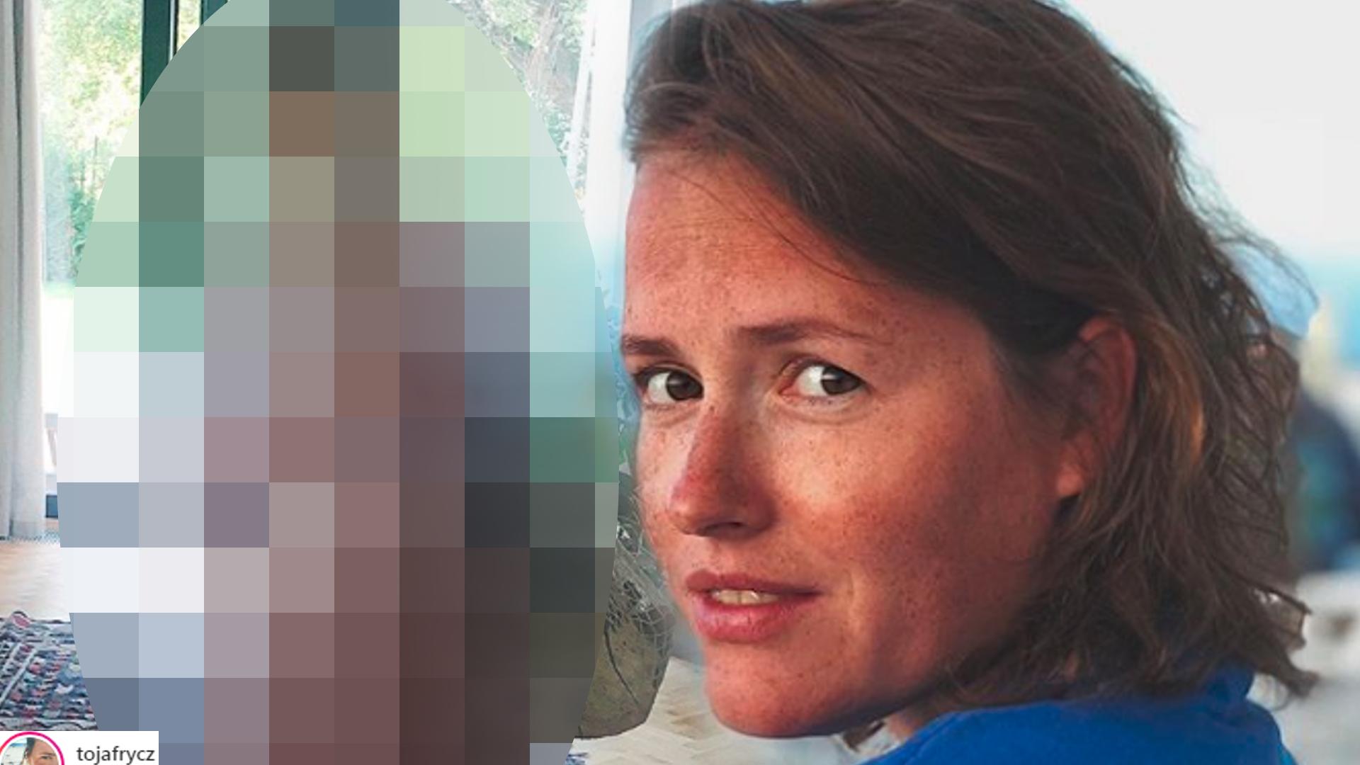 Olga Frycz pokazała OGROMNY ciążowy brzuszek w nieuprasowanej sukience!