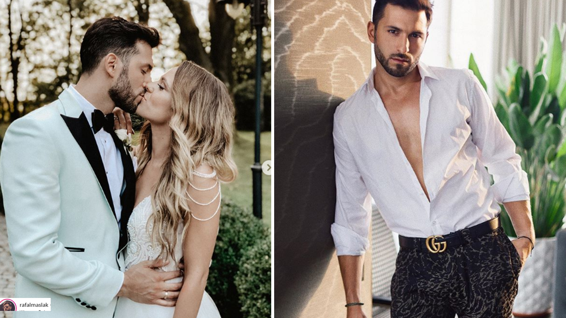 Rafał Maślak wziął ślub! Nicpoń pokazała PIĘKNĄ suknię!