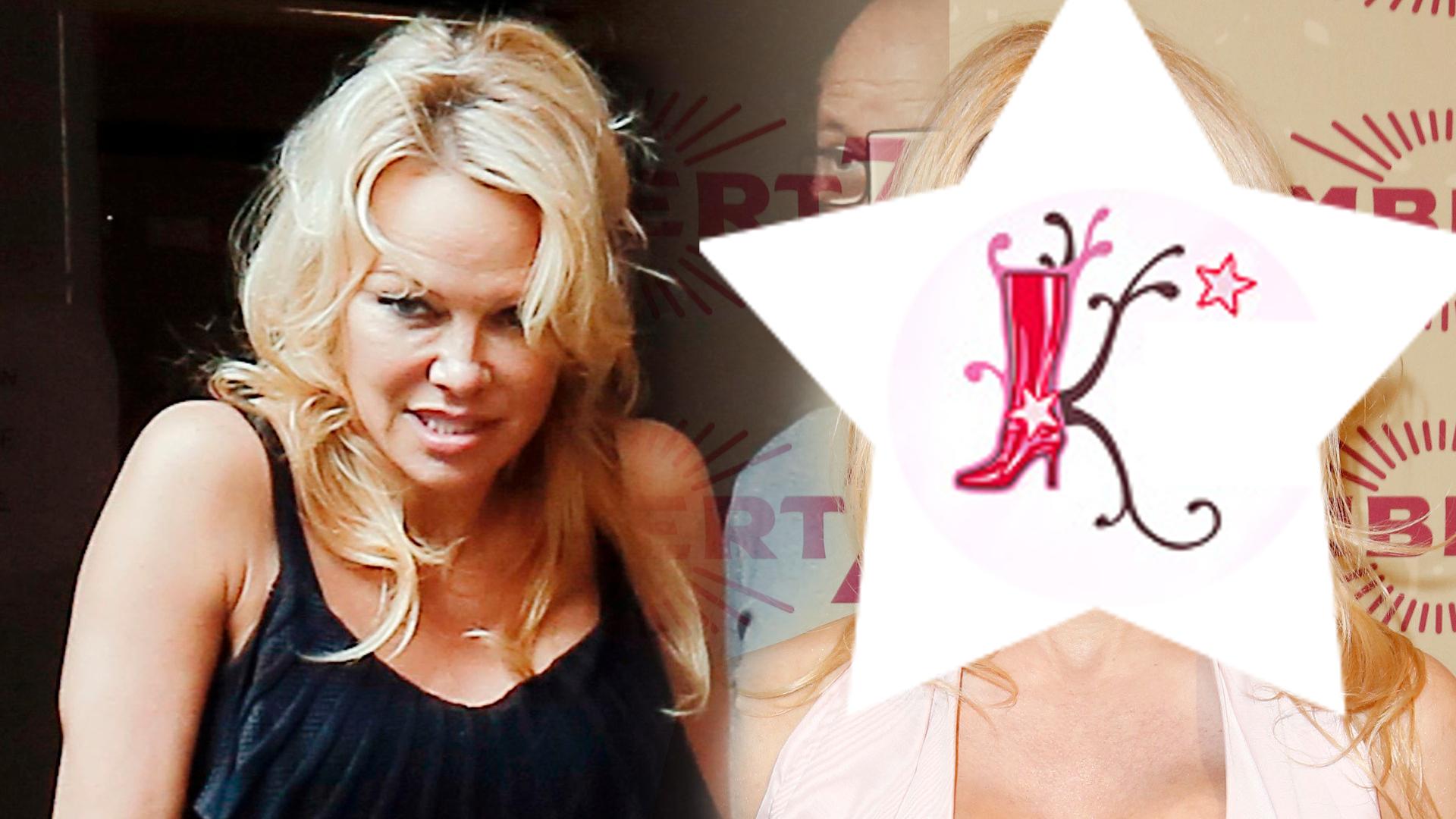 51-letnia Pamela Anderson świeci biustem i nową twarzą na ściance