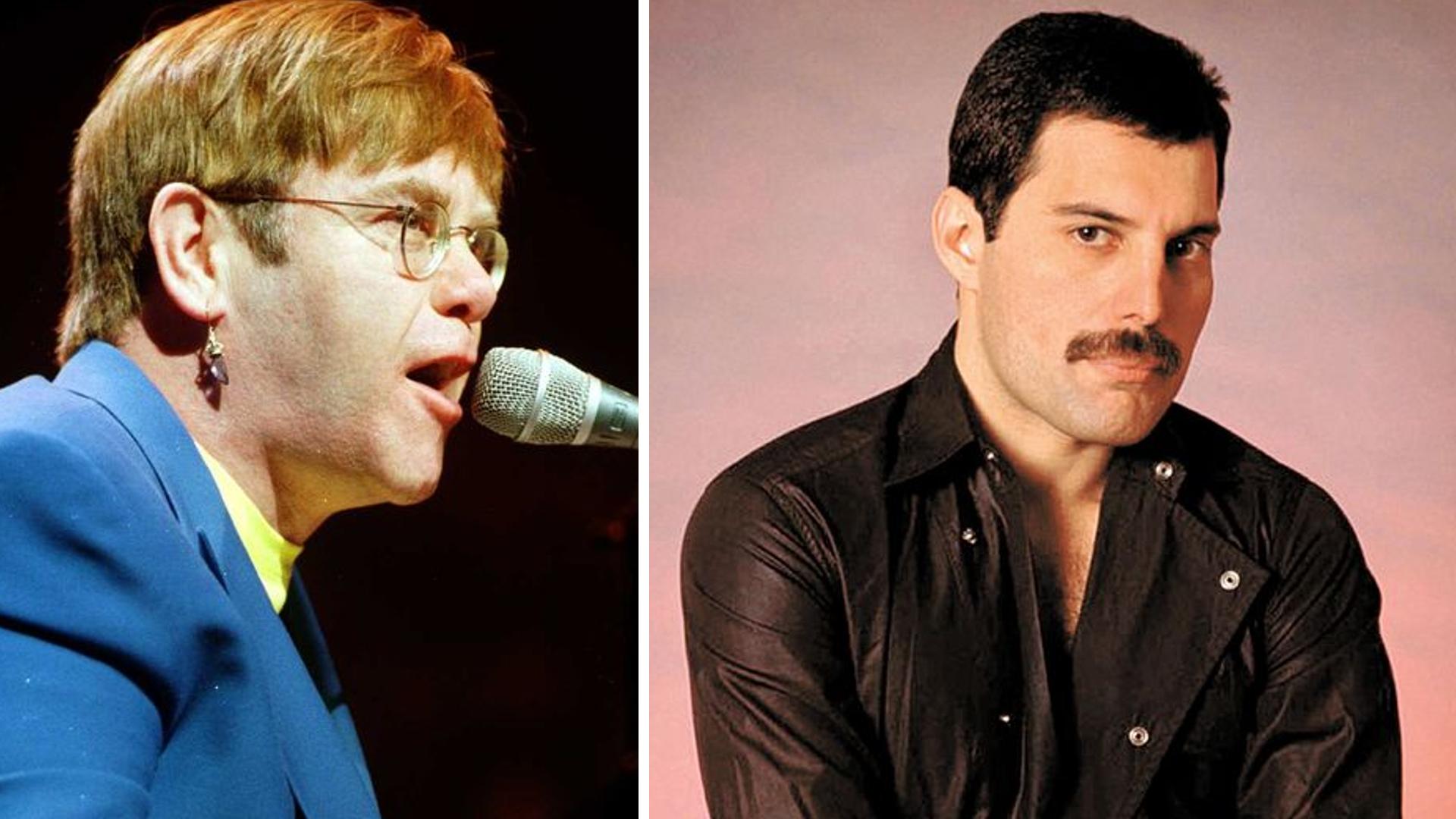 Elton John o walce Mercury'ego z AIDS: był prawie ŚLEPY i zbyt słaby, by stać