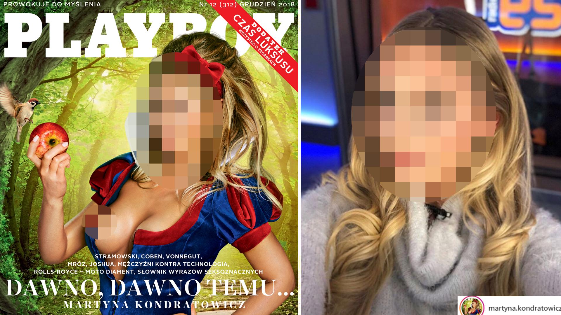 Prezenterka TV rozebrała się w Playboyu! To nie jest zwykła sesja!
