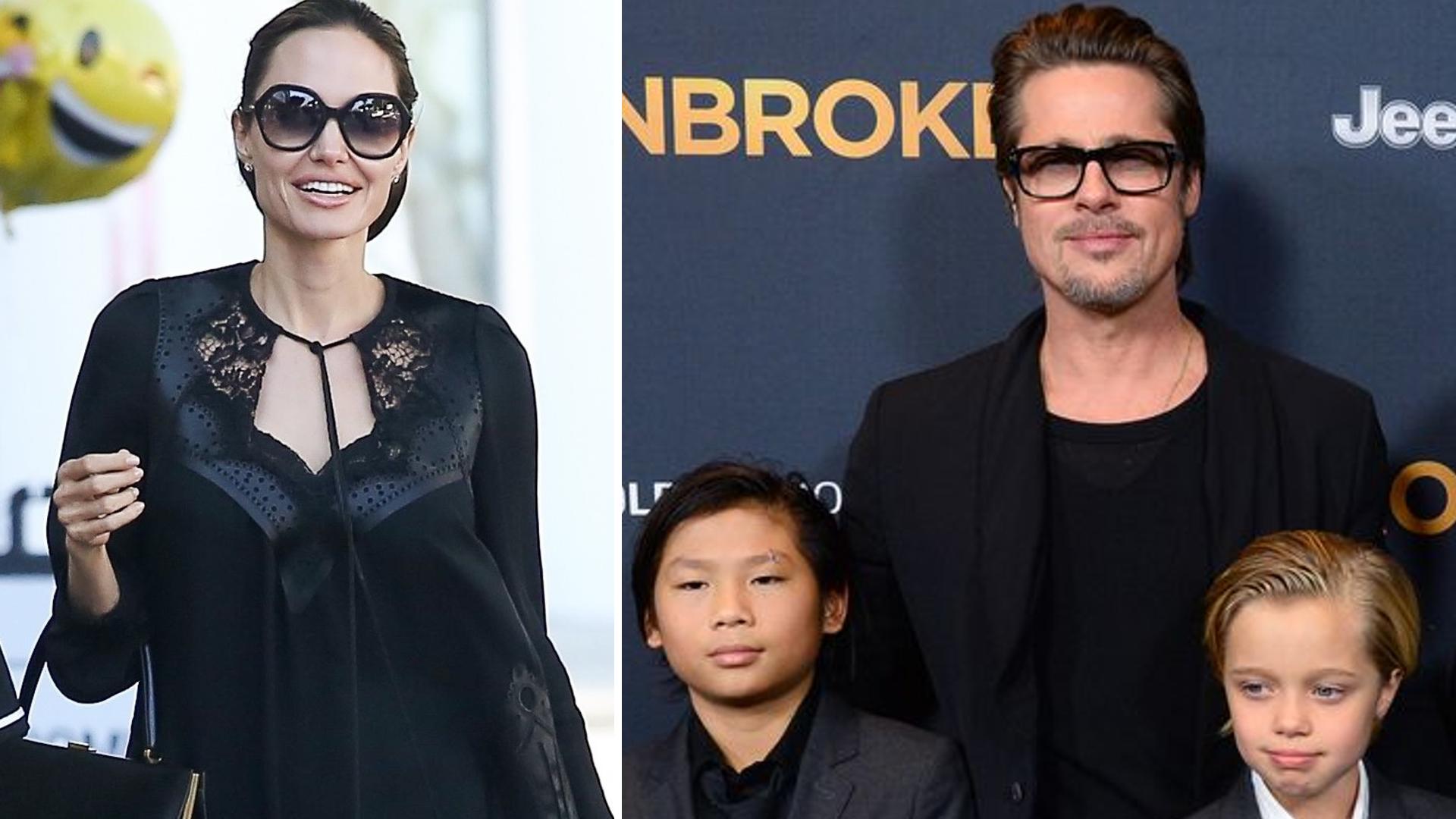 Angelina Jolie SPOTKAŁA się z Bradem u prawnika