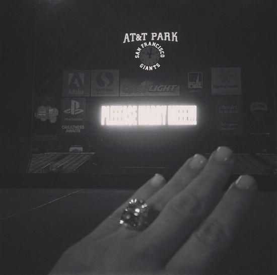 Najnowszy nabytek - kolejny pierścionek zaręczynowy