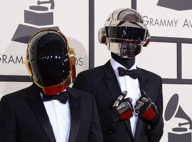 Daft Punk zgarnął aż aż cztery statuetki Grammy (FOTO)