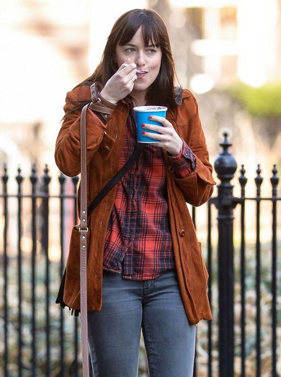 Tak wygląda Dakota Johnson bez makijażu (FOTO)
