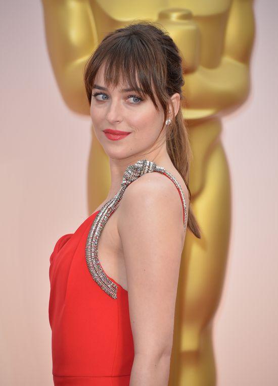 Z kim Dakot Johnson przyszła na rozdanie Oscarów? (FOTO)