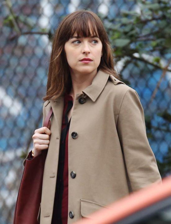 Ana Steele stan�a oko w oko z by�� Christiana Greya!