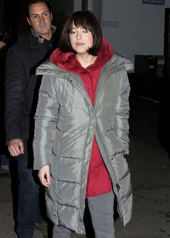 Dakota Johnson na planie swojego nowego filmu (FOTO)