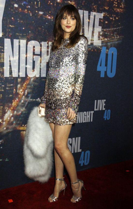 Dakota Johnson błyszczy jak prawdziwa gwiazda? (FOTO)