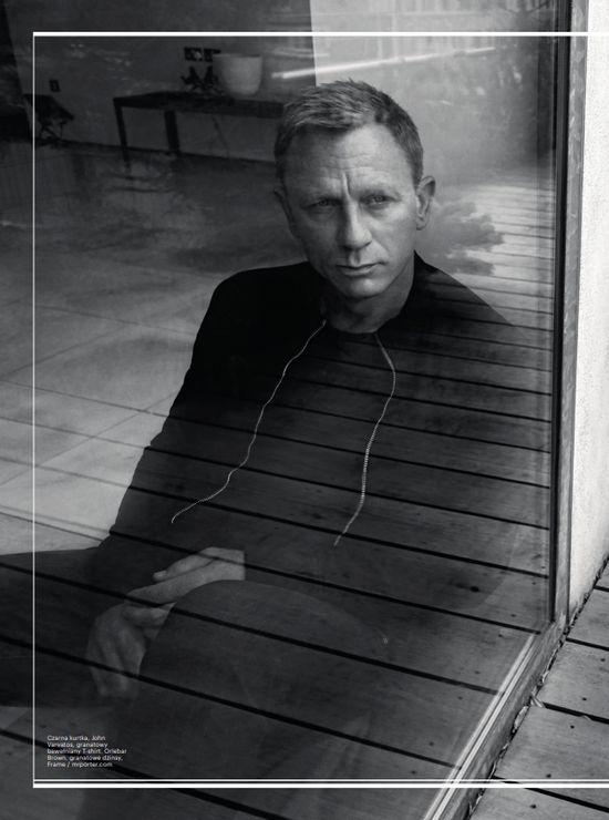 Daniel Craig w Esquire szczery do bólu (FOTO)