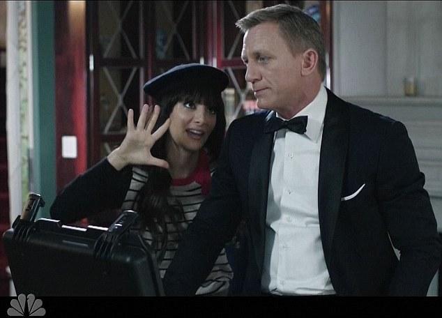 Daniel Craig w Saturday Night Live (VIDEO)