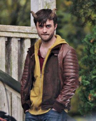 Daniel Radcliffe z przyprawionymi rogami (FOTO)