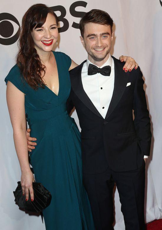 Daniel Radcliffe zabrał dziewczynę na salony (FOTO)