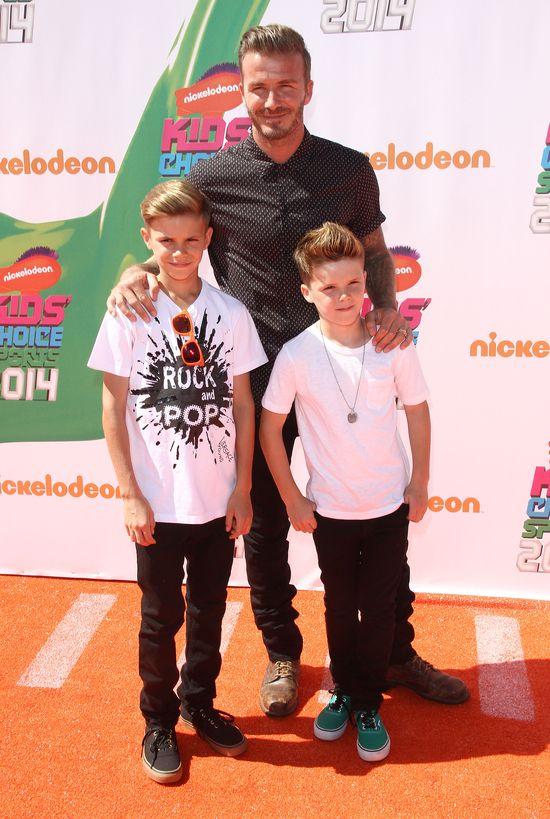David Beckham zostawi� 9-letniego syna w gor�cym aucie!