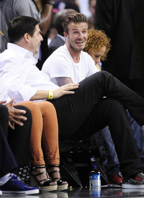 David Beckham masturbowa� si� przed kolegami z dru�yny!