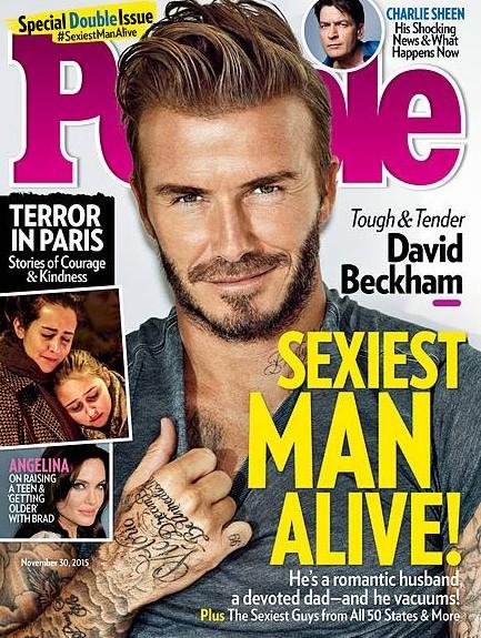Najseksowniejszym mężczyzną na ziemi został... David Beckham