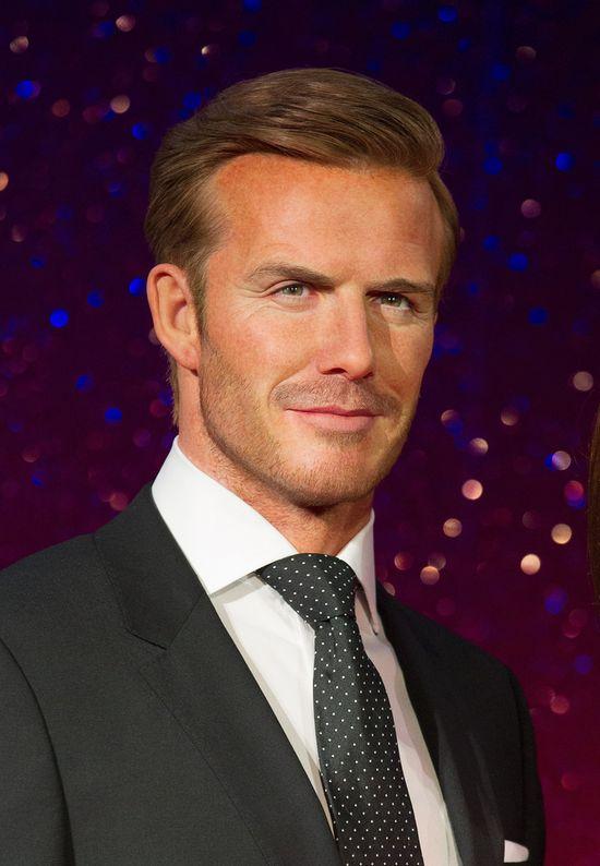 Pa�stwo Beckham z wosku (FOTO)