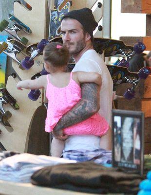 David Beckham będzie trzymał Harper w wieży?