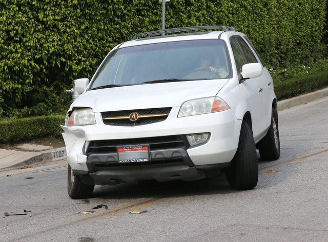 David Beckham miał wypadek! (FOTO)