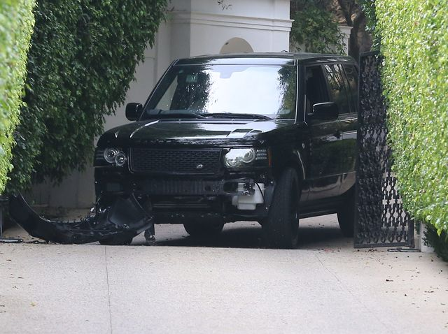 David Beckham mia� wypadek! (FOTO)