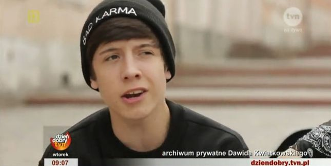 Dawid Kwiatkowski – 17-latek gwiazdą internetu [VIDEO]
