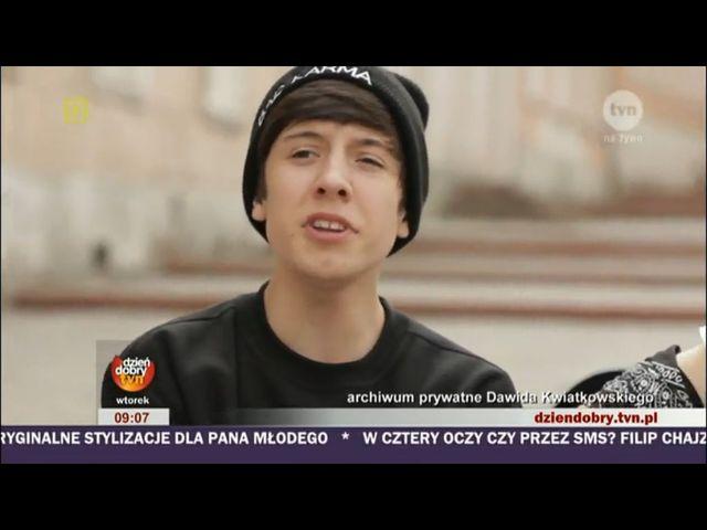Dawid Kwiatkowski - 17-latek gwiazdą internetu [VIDEO]