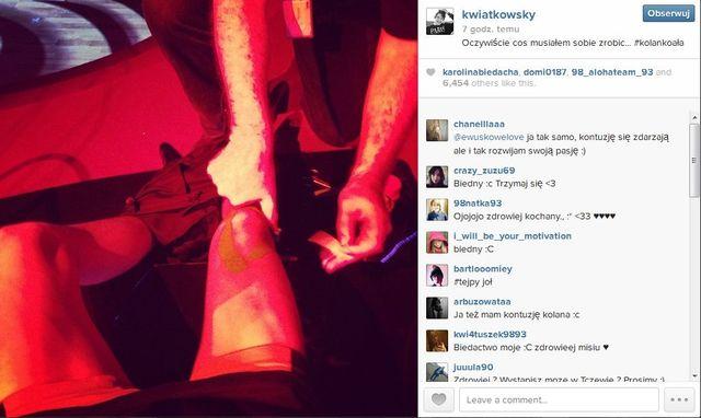 Dawid Kwiatkowski miał wypadek na treningu! (FOTO)
