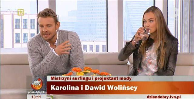 Dawid Woliński promuje siostrę? (FOTO+VIDEO)