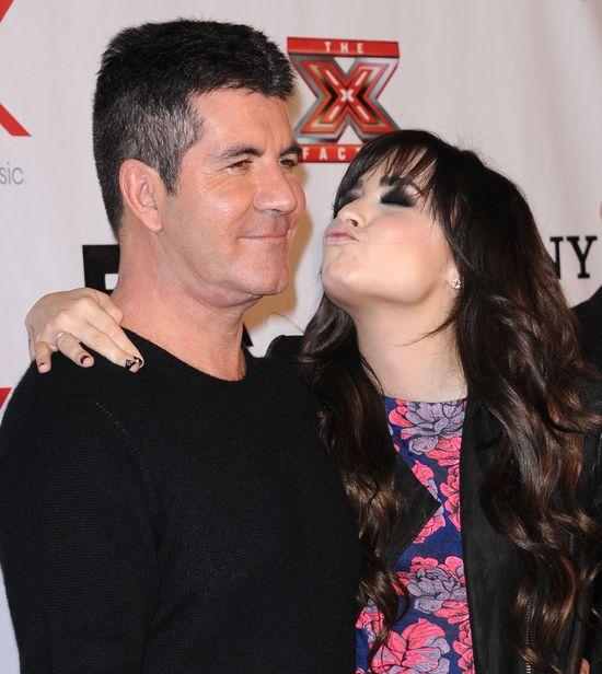Simon Cowell sugeruje, żeby Demi Lovato schudła?