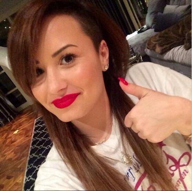 Demi Lovato znowu przefarbowała włosy (FOTO)