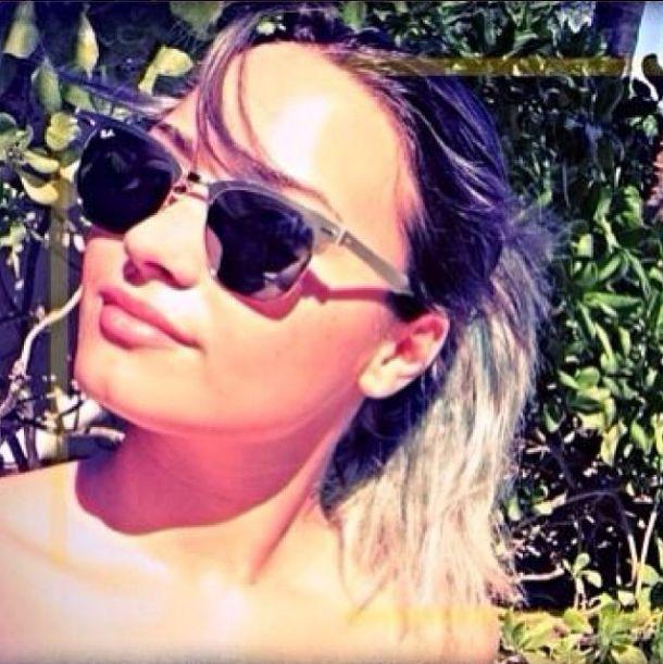 Demi Lovato podczas urlopu zniszczyła sobie włosy (FOTO)