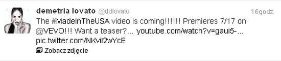 Już jest zapowiedź teledysku do singla Demi Lovato (VIDEO)