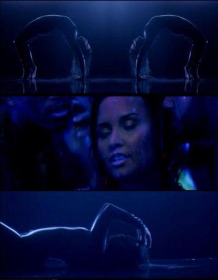 Demi Lovato te� jest naga w najnowszym teledysku? (VIDEO)