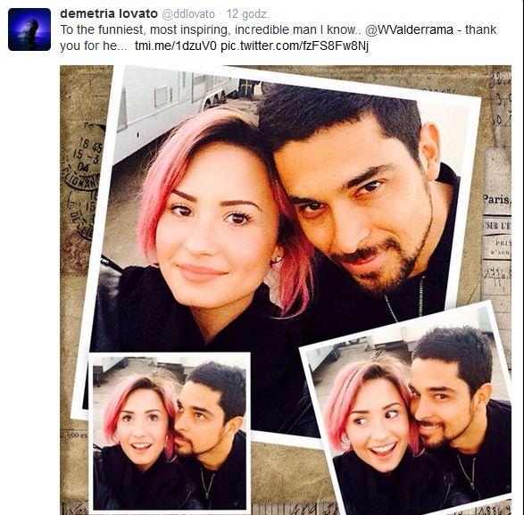 Chłopak Demi Lovato o ukochanej: Jest gruba! (FOTO)
